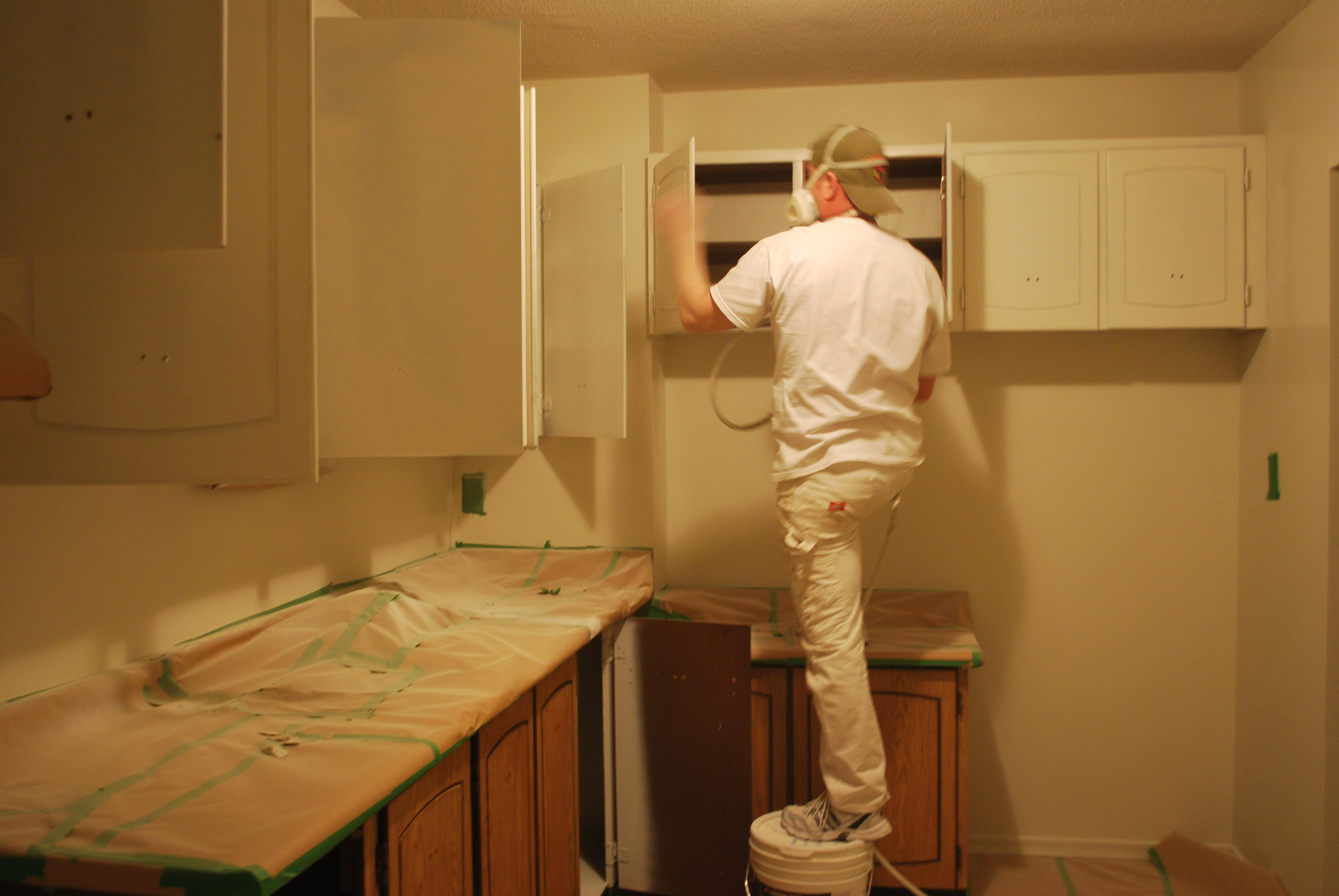 Kitchen Cabinets Painters